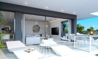 Brand new modern apartments for sale on the New Golden Mile, between Marbella and Estepona 3392