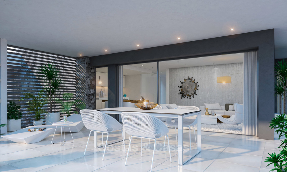 Brand new modern apartments for sale on the New Golden Mile, between Marbella and Estepona 3393