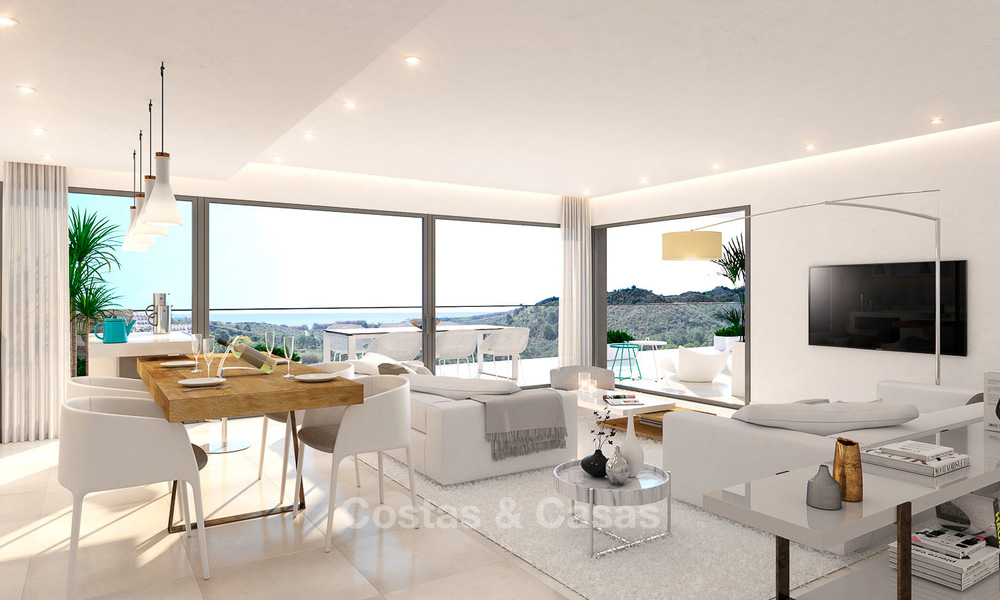 Brand new modern apartments for sale on the New Golden Mile, between Marbella and Estepona 3394