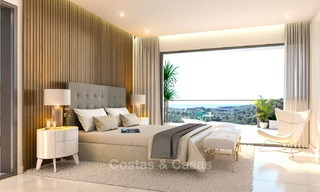 Brand new modern apartments for sale on the New Golden Mile, between Marbella and Estepona 3396