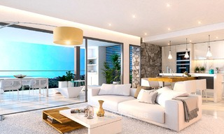 Brand new modern apartments for sale on the New Golden Mile, between Marbella and Estepona 3398