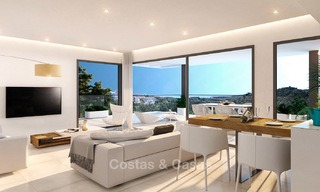 Brand new modern apartments for sale on the New Golden Mile, between Marbella and Estepona 3399