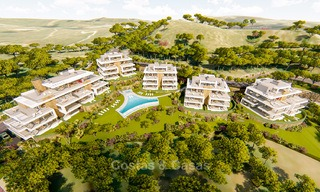 Brand new modern apartments for sale on the New Golden Mile, between Marbella and Estepona 3401