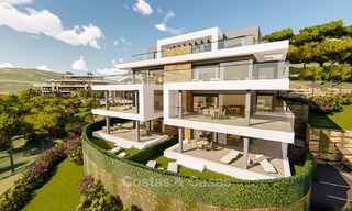 Brand new modern apartments for sale on the New Golden Mile, between Marbella and Estepona 3402