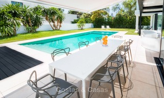 Contemporary, Newly Built Beachside Villa for Sale in Puerto Banus, Marbella 3454