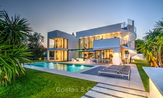 Contemporary, Newly Built Beachside Villa for Sale in Puerto Banus, Marbella 3455