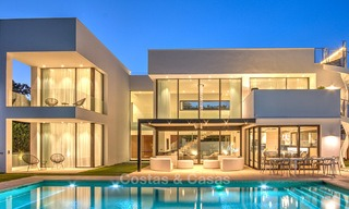 Contemporary, Newly Built Beachside Villa for Sale in Puerto Banus, Marbella 3456