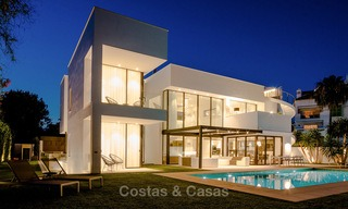 Contemporary, Newly Built Beachside Villa for Sale in Puerto Banus, Marbella 3457