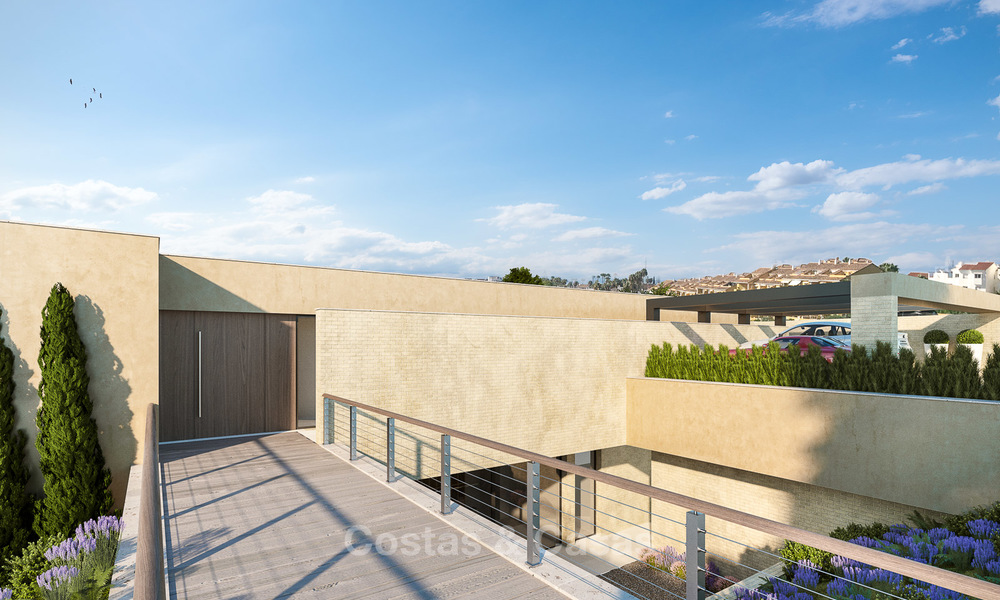 Spectacular and luxurious new built villa for sale, in an exclusive golf resort, first line golf in Benahavis - Marbella 3488