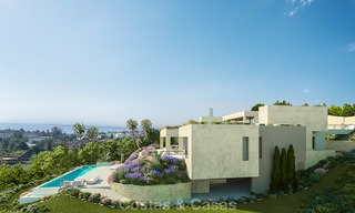 Spectacular and luxurious new built villa for sale, in an exclusive golf resort, first line golf in Benahavis - Marbella 3486