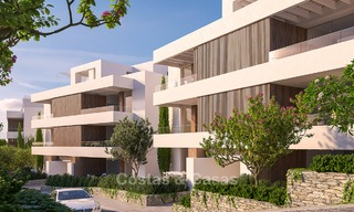 Brand new luxury and eco-friendly apartments with seaviews for sale in a boutique innovative project in Benahavis - Marbella 3555
