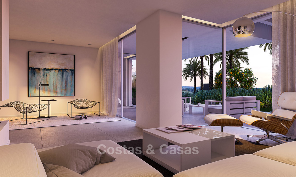 Brand new luxury and eco-friendly apartments with seaviews for sale in a boutique innovative project in Benahavis - Marbella 3546