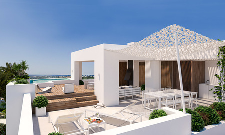 Brand new luxury and eco-friendly apartments with seaviews for sale in a boutique innovative project in Benahavis - Marbella 3549
