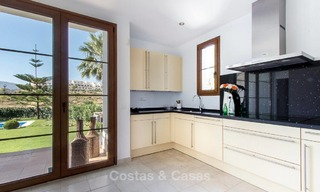 Ready to move in new villa for sale, first line golf in a gated golf resort, New Golden Mile, Marbella - Estepona 3505