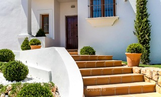 Ready to move in new villa for sale, first line golf in a gated golf resort, New Golden Mile, Marbella - Estepona 3529