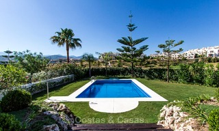 Ready to move in new villa for sale, first line golf in a gated golf resort, New Golden Mile, Marbella - Estepona 3532