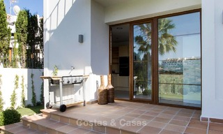 Ready to move in new villa for sale, first line golf in a gated golf resort, New Golden Mile, Marbella - Estepona 3534