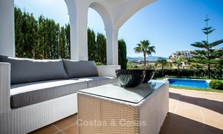 Ready to move in new villa for sale, first line golf in a gated golf resort, New Golden Mile, Marbella - Estepona 3536