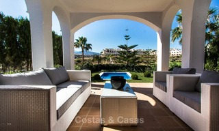 Ready to move in new villa for sale, first line golf in a gated golf resort, New Golden Mile, Marbella - Estepona 3538