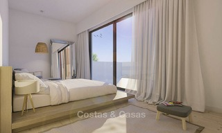 Two luxury and modern contemporary eco-friendly new villas for sale in a boutique development, Casares - Estepona 3565