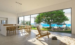 Two luxury and modern contemporary eco-friendly new villas for sale in a boutique development, Casares - Estepona 3563