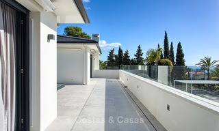 Attractive and spacious renovated luxury villa with majestic sea views for sale, Marbella East 3615