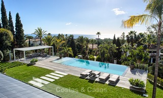 Attractive and spacious renovated luxury villa with majestic sea views for sale, Marbella East 3573