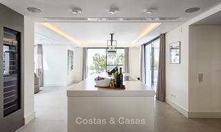 Attractive and spacious renovated luxury villa with majestic sea views for sale, Marbella East 3589