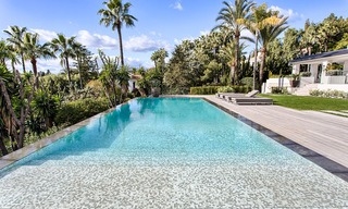 Attractive and spacious renovated luxury villa with majestic sea views for sale, Marbella East 3602