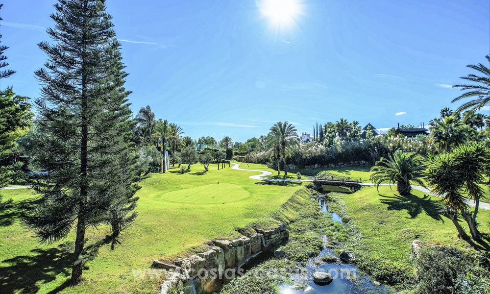New, 'design your own', contemporary luxury villas for sale in an innovative project, golf area with golf and sea views in Estepona - Marbella 3632