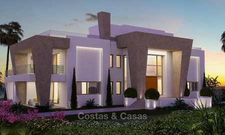 Very spacious and luxurious modern new built villa for sale, Sierra Blanca, Golden Mile, Marbella 3662