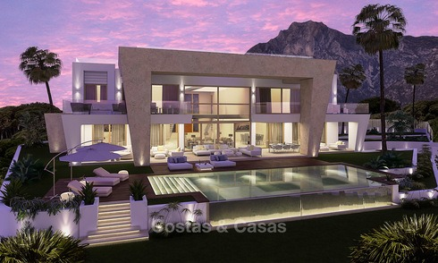 Very spacious and luxurious modern new built villa for sale, Sierra Blanca, Golden Mile, Marbella 3663