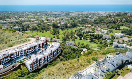 New, modern apartments for sale in a sought after area of Benahavis - Marbella 3775