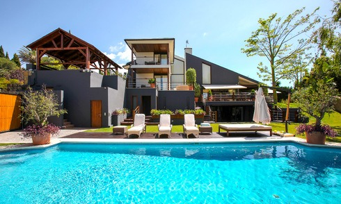 Contemporary design luxury villa for sale in Nueva Andalucia, Marbella 3744