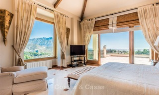 Charming and spacious Andalusian style villa for sale in El Madroñal, Benahavis - Marbella 3756