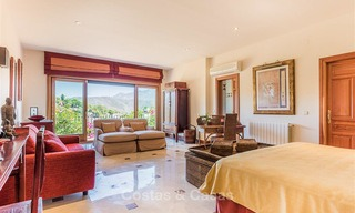 Charming and spacious Andalusian style villa for sale in El Madroñal, Benahavis - Marbella 3760