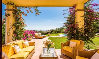 Charming and spacious Andalusian style villa for sale in El Madroñal, Benahavis - Marbella 3762