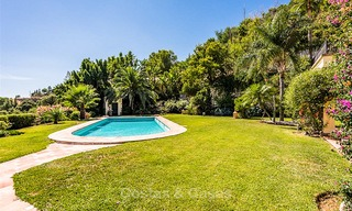 Charming and spacious Andalusian style villa for sale in El Madroñal, Benahavis - Marbella 3763