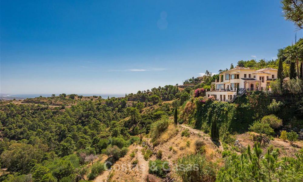 Charming and spacious Andalusian style villa for sale in El Madroñal, Benahavis - Marbella 3767