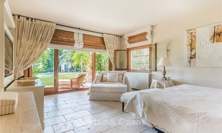 Charming and spacious Andalusian style villa for sale in El Madroñal, Benahavis - Marbella 3773