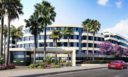 New modern beachfront apartments for sale in Torremolinos, Costa del Sol 3724