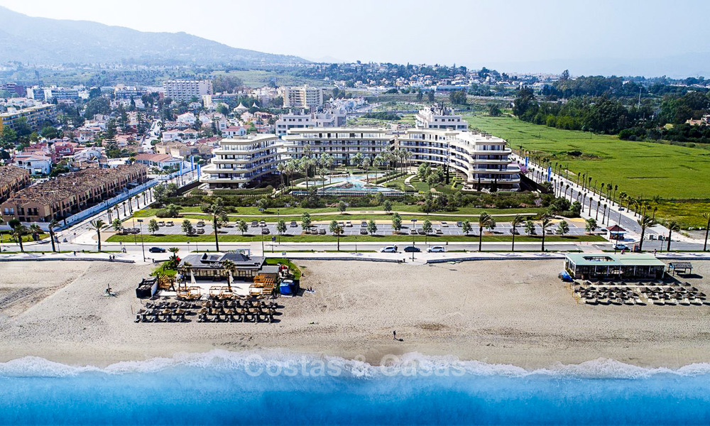 New modern beachfront apartments for sale in Torremolinos, Costa del Sol 3723