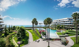 New modern beachfront apartments for sale in Torremolinos, Costa del Sol 3725