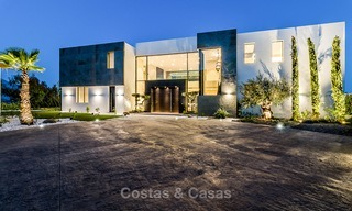 New built modern contemporary luxury villa for sale in El Madroñal, Benahavis - Marbella 3867
