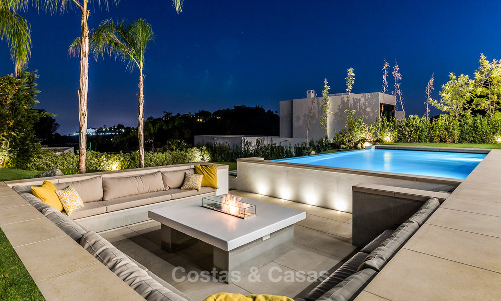 New built modern contemporary luxury villa for sale in El Madroñal, Benahavis - Marbella 3868