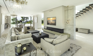 New elegant-contemporary modern luxury villa for sale in El Madroñal, Benahavis - Marbella 17146