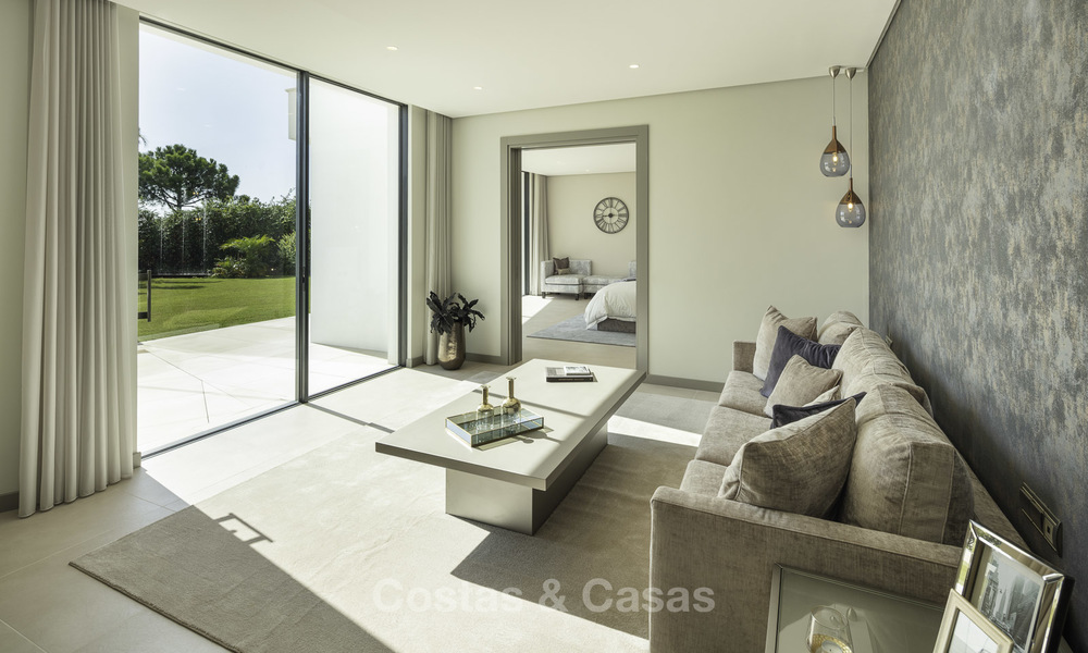 New elegant-contemporary modern luxury villa for sale in El Madroñal, Benahavis - Marbella 17150
