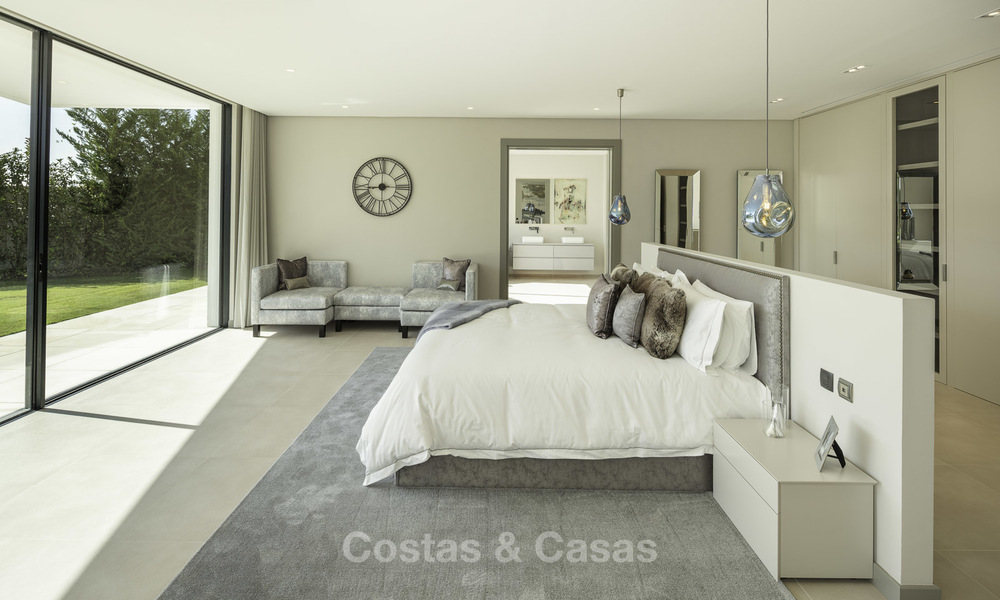 New elegant-contemporary modern luxury villa for sale in El Madroñal, Benahavis - Marbella 17151