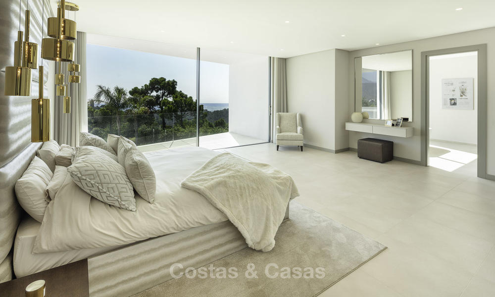 New elegant-contemporary modern luxury villa for sale in El Madroñal, Benahavis - Marbella 17157