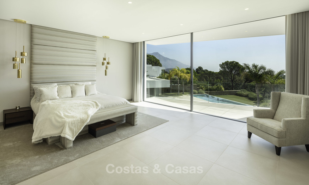 New elegant-contemporary modern luxury villa for sale in El Madroñal, Benahavis - Marbella 17158